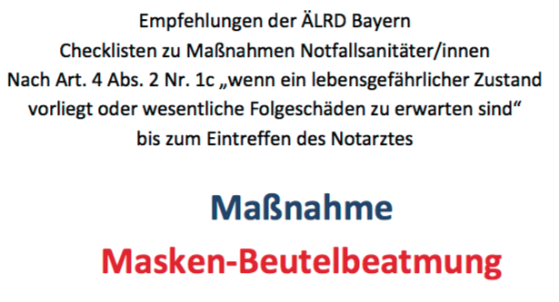 NotSan 1c Maßnahmen Empfehlung Bayern… ernsthaft? (Mia sanmia)