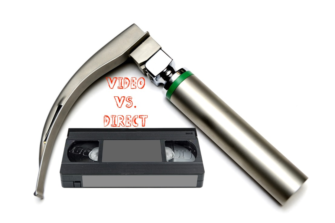 Laryngoskopie – Video vs.Direkt