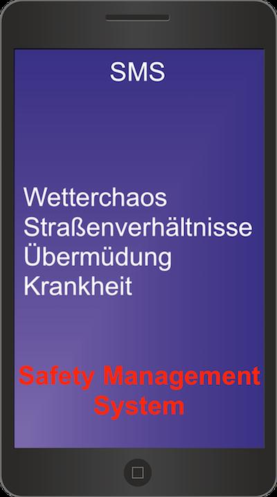 SMS – im Rettungsdienst eineNotwendigkeit?